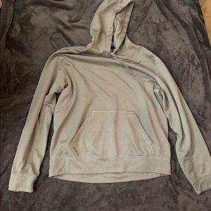 Gray Nike sweatshirt
